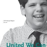 UCP Annual Report - United Cerebral Palsy of Greater Chicago