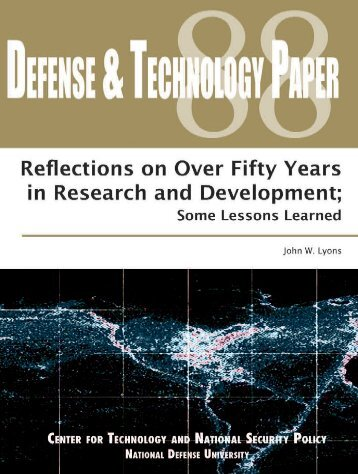 Reflections on Over Fifty Years in Research and Development