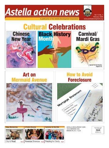 Cultural Celebrations - Astella Development Corporation
