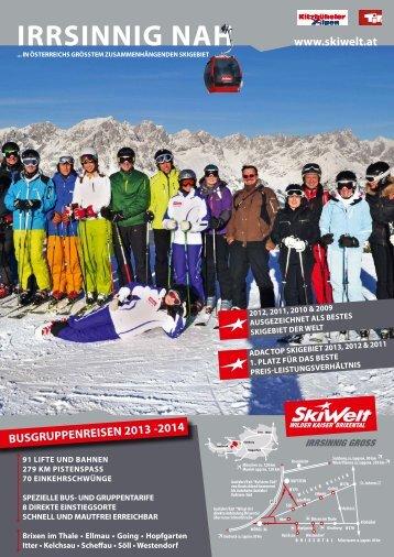 irrsinnig nah - SkiWelt Wilder Kaiser- Brixental