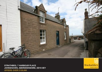 STRATHBEG, 7 HARBOUR PLACE JOHNSHAVEN ... - Blackadders