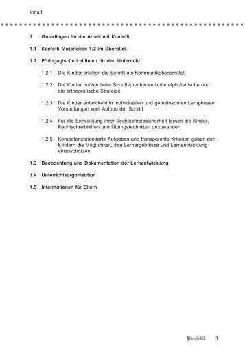 1 Grundlagen für die Arbeit mit Konfetti 1.1 Konfetti ... - f.sbzo.de