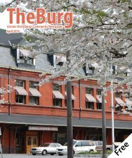 Greater Harrisburg's Community Newspaper April 2010 - The Burg