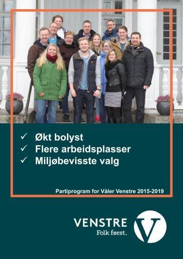 Våler-Venstre-program-2015-2019-stor