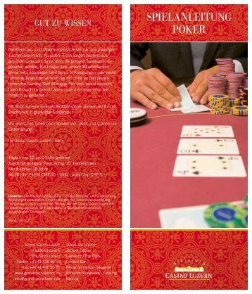 Poker Spielanleitung Fur Anfanger Pdf