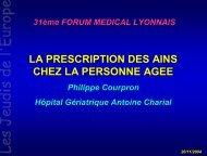La prescription des AINS chez la personne âgée - Les Jeudis de l ...