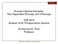 3 Runway Capacity Example - Air Transportation Systems Laboratory