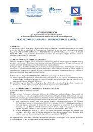 Avviso pubblico - Comune di Ariano Irpino
