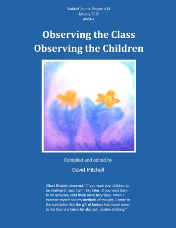 Observing the Class Observing the Children - Research Institute for ...