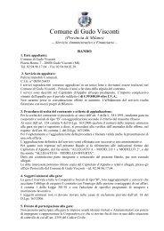 offerta economica - Comune di Gudo Visconti