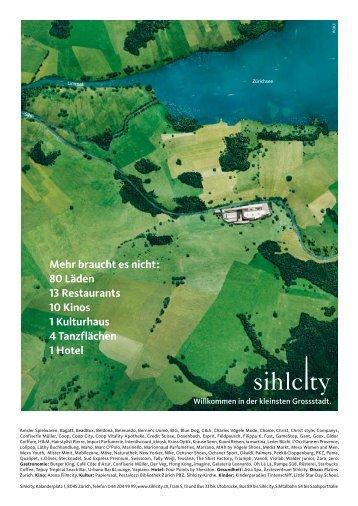 Medieninformation - Sihlcity