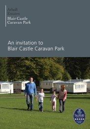 download it as a PDF file here - Blair Castle Caravan Park