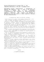 Decreto ministeriale 24 ottobre 2001, n. 420