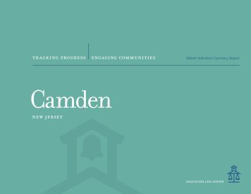 Camden Abbott Indicators Summary Report - Education Law Center