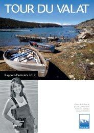 Rapport d'activités 2012 - Tour du Valat