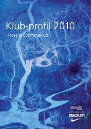 Klub-profil 2010 - Horsens Svømmeklub