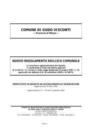 scarichi - Comune di Gudo Visconti