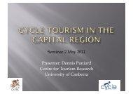 Cycle Tourism Seminar 2 May 2011