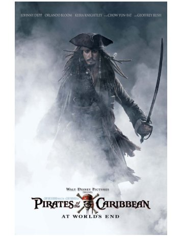 Pirates of the caribbean: at world's end - Disney