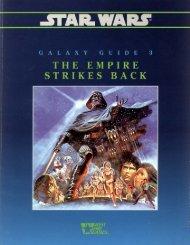 Star Wars D6 - Galaxy Guide 3 - The Empire Strikes Back ... - Baykock