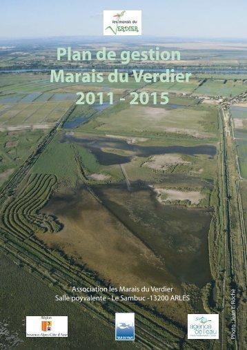 Plan de gestion des Marais du Verdier 2011-2016 - Tour du Valat