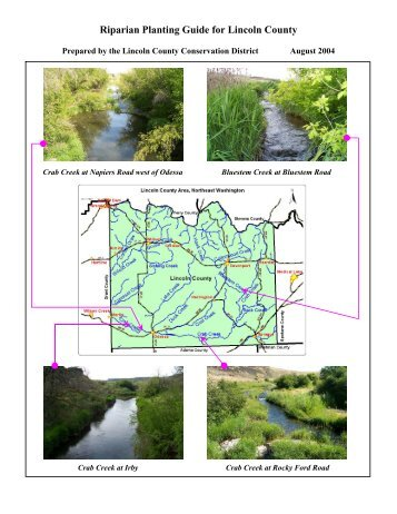 Riparian Planting Guide for the Upper Crab Creek ... - Lincoln County