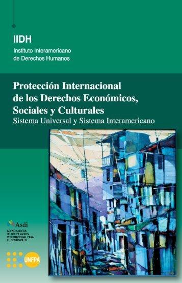 Proteccion internacional de los DESC - Poder Judicial