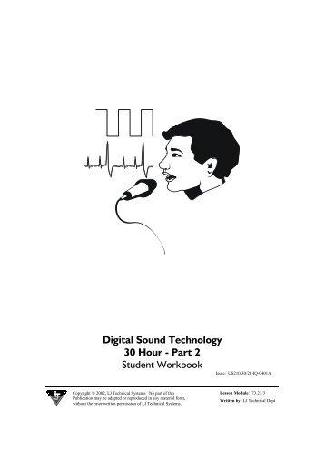 30 Hour Digital Sound Workbook 2.pdf - Firestone High School