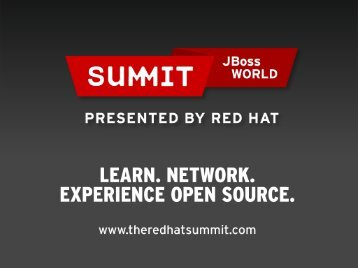 RHEL6.3 - Red Hat Summit