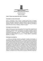 Técnico de Laboratório/ Área: Topografia - Universidade Federal da ...