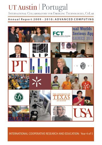 CoLab Annual Report 2009-2010 - UT Austin Portugal CoLab