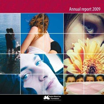 Annual report 2009 - Baylor International Pediatric AIDS Initiative