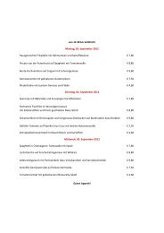 von 11:30 bis 14:00 Uhr Montag, 03. September ... - Proviant-Magazin