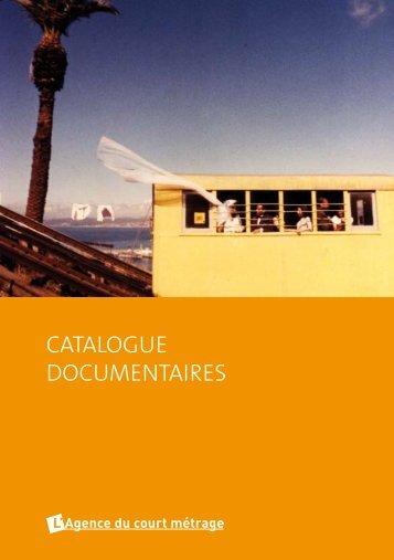 catalogue documentaires - Bienvenue sur le site de l'Agence du ...
