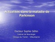 Parkinson - Les Jeudis de l'Europe