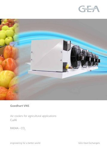 Goedhart VNS Air coolers for agricultural applications Cu ... - ARKTON
