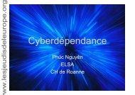 Cyberdépendance - Les Jeudis de l'Europe