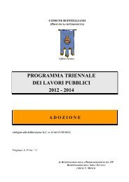 1 - Programma triennale dei lavori pubblici 2012/2014 - Comune di ...