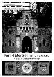 Fort 4 Mortsel 20 - 21 Mei 2006 - Familiekunde Brussel