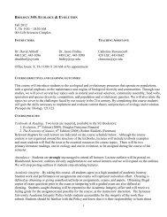 1 Fall 2012 T, Th 9:30 – 10:50 AM 001 Life Sciences ... - Althoff Lab