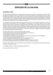 Star Wars - D6 - Suplemento No Oficial - Enciclopedia ... - Baykock