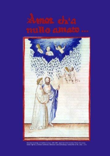 amor ch'a nullo amato... - Biblioteca Gambalunga