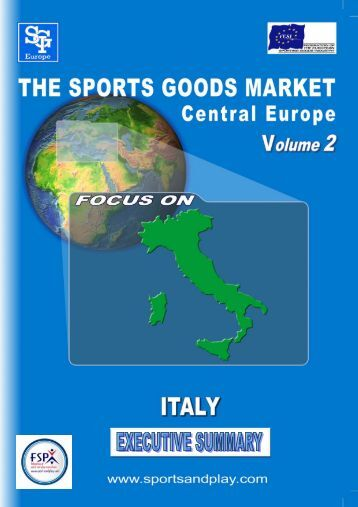Italy Executive Summary - Sporting Goods Industry Association
