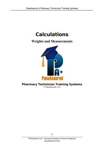 Pass Assured's Pharmacy Technician Training Program