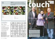 In Touch spring 2010 - Teign Housing