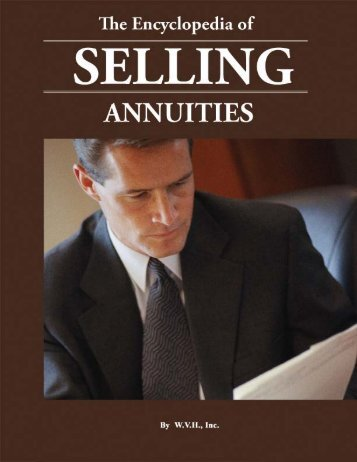 The Encyclopedia to Selling Annuities