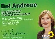 Bei Andreae - Kerstin Andreae