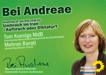 Bei Andreae - Kerstin Andreae