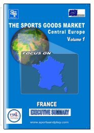 France Executive Summary - Sporting Goods Industry Association