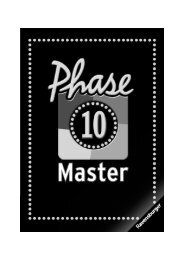Phase 10 Master - Spielanleitung - Brettspiele-Report